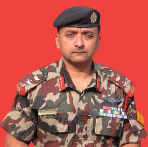 Lt. Col. Jitendra Jung Karki, Srinath Battalion, Nepal